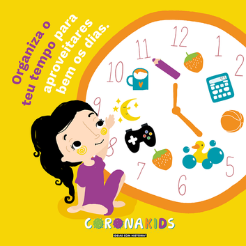 Organiza o teu tempo!