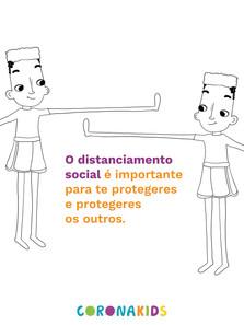 Dicas CoronaKids - Distanciamento social