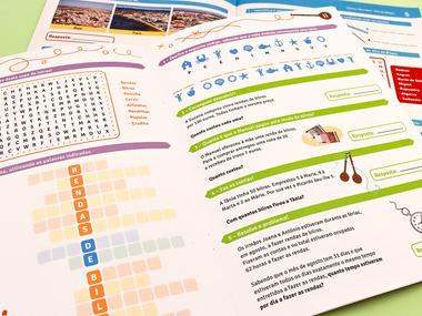 Cadernos e fichas de atividades