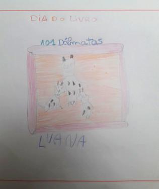Luana Araújo, 6 anos