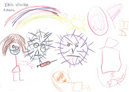 Íris Vieira, 3 anos