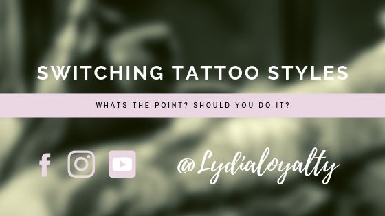 Switching up tattoo styles