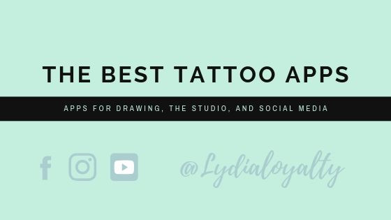 My favorite Apps to use for tattooing