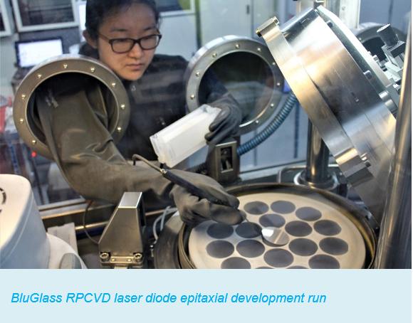 RPCVD laser diode epitaxial development run
