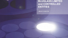 BLUGLASS PRESENTS ITS HALF YEAR REPORT