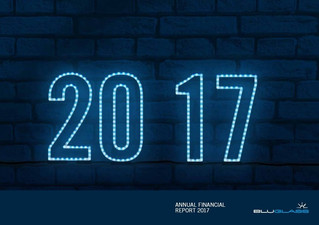 BLUGLASS RELEASES ITS ANNUAL REPORT