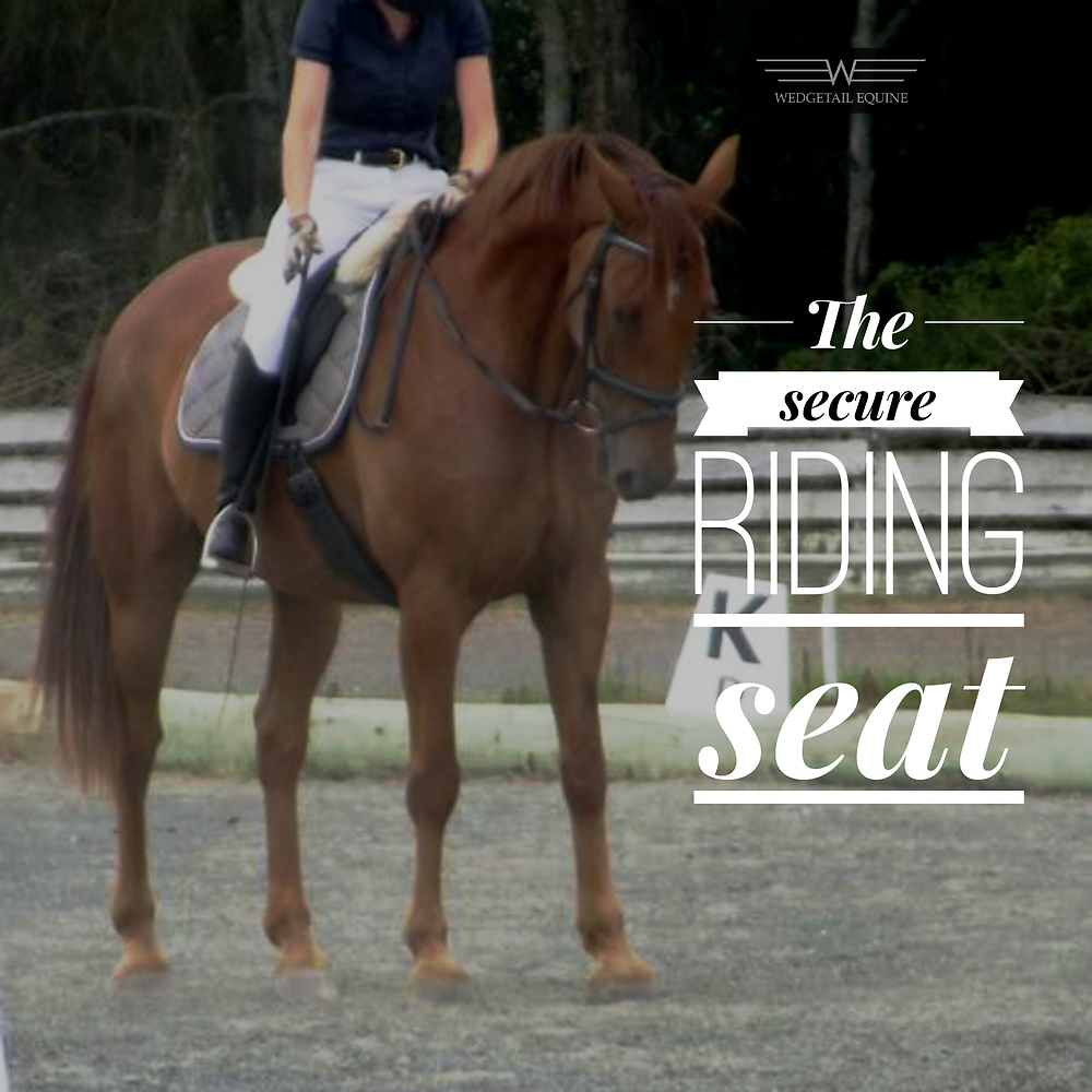 confident riding and the secure riding seat