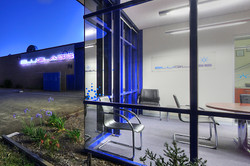 The BluGlass office and labs
