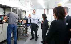 Lab visit & research demonstration