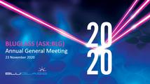 BLUGLASS 2020 AGM PRESENTATION