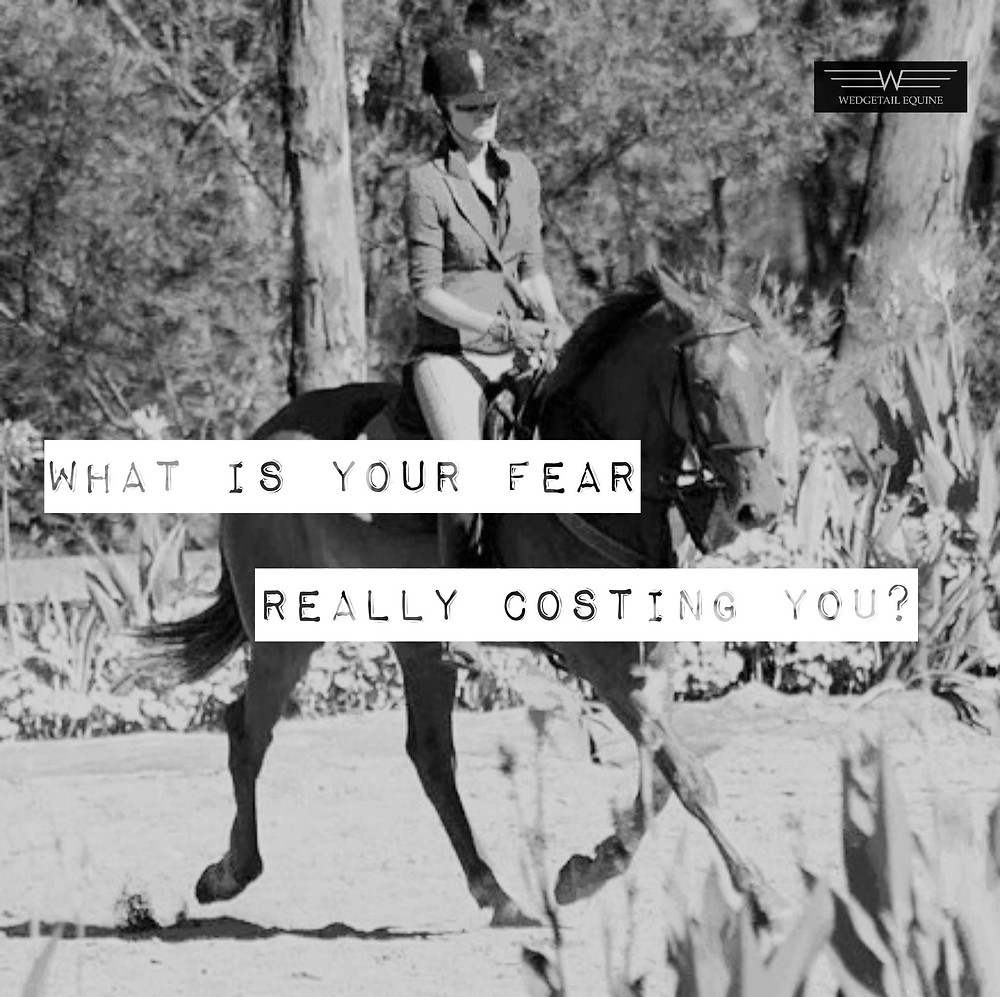 Riding fear, and what to do about it