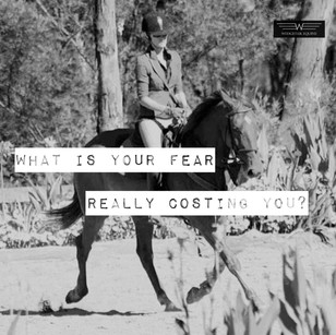 The true cost of riding fear can be so much more than you think