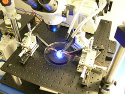 Light emission of RPCVD p-GaN wafer