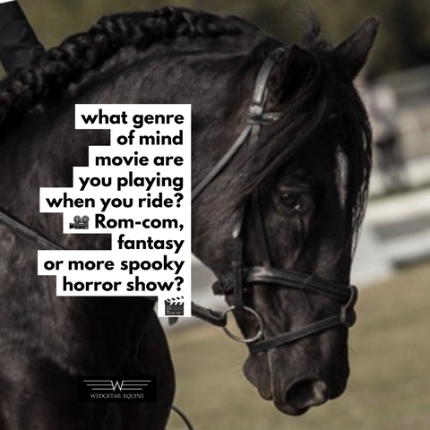 What genre of mind movie are you playing when you ride?