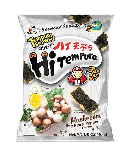 Tempura Seaweed Mushroom & Black Pepper1.41 oz (40g)