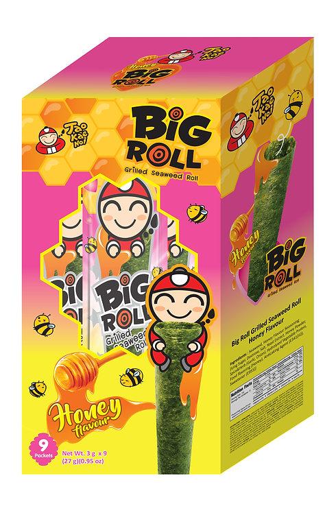 Big Roll Grilled Seaweed Honey 0.95 oz (27g- 3g X 9pcs)