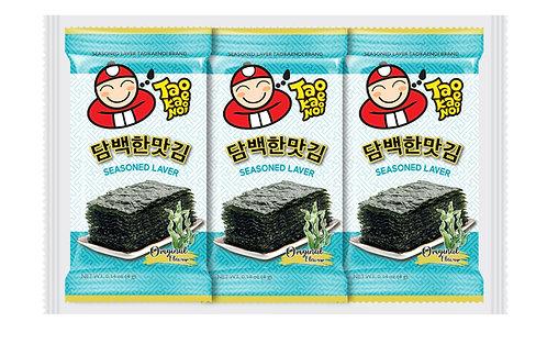 Roasted Seaweed  4g x 3 pcs- Original Flavor