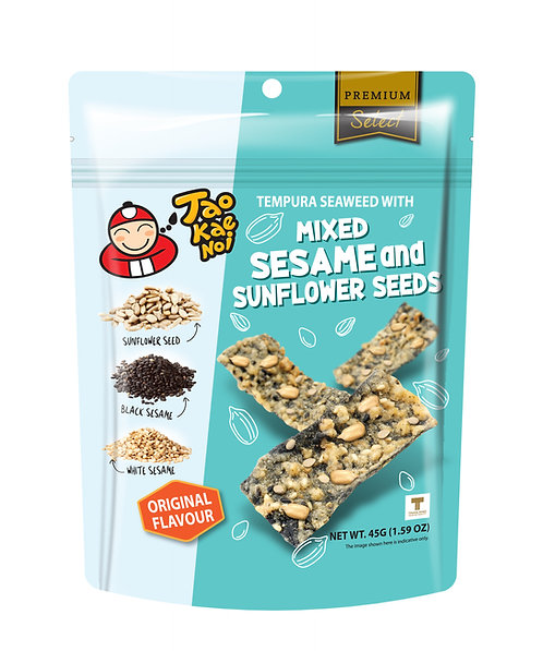 Sesame Sunflower Seed Tempura Seaweed  1.59 oz (45g)