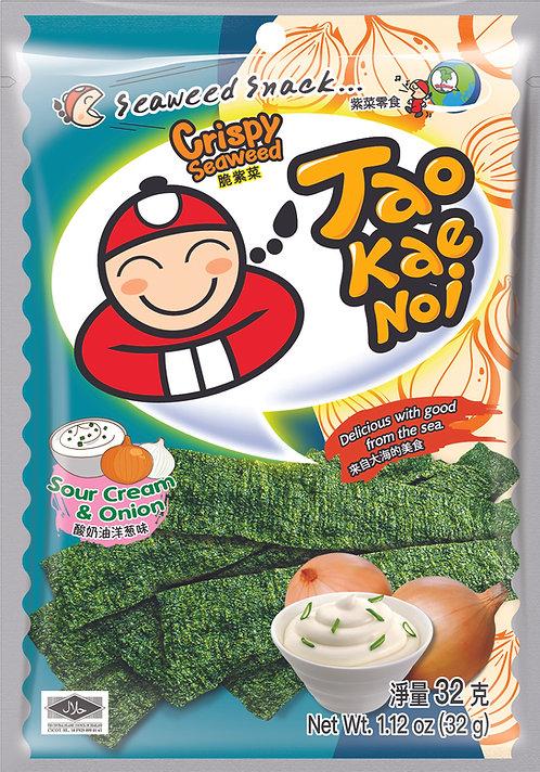 Crispy Seaweed Sour Cream & Onion 1.12 oz (32g)