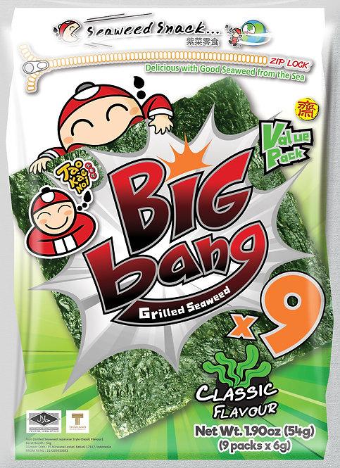 Big Bang Grilled Seaweed Classic 1.90 oz (54g)