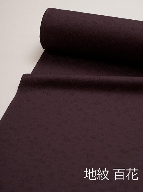 色無地-黒紫
