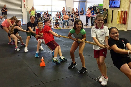 Strength and Fitness Fun Camp ages 6-10 - 1 Week Sessions