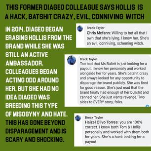 Diageo Misogyny