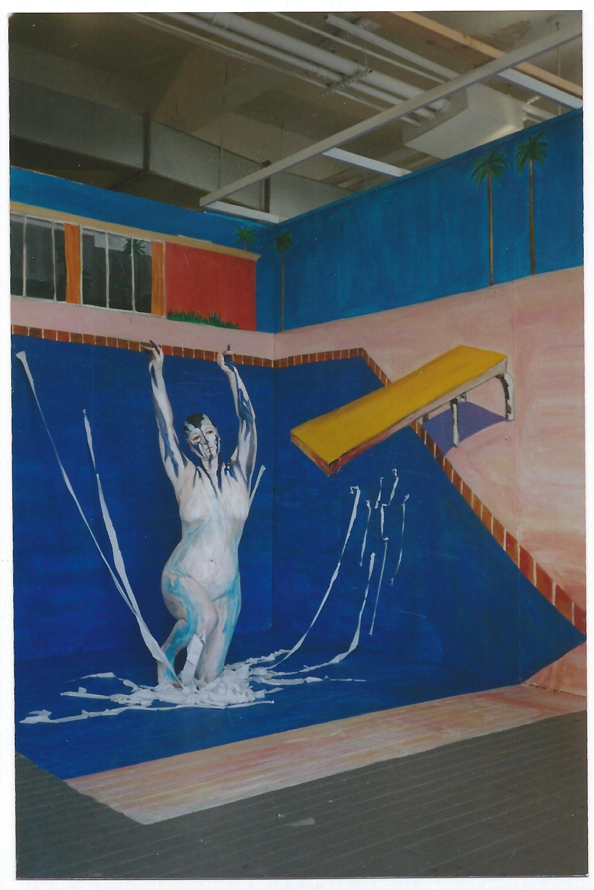 Swimming in Hockney
