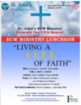 Living a Life of Faith ECW Luncheon Marc