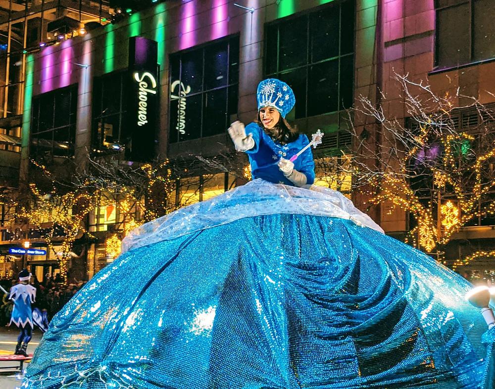 Christmas Parade, Bellevue Square, Bellevue Wa
