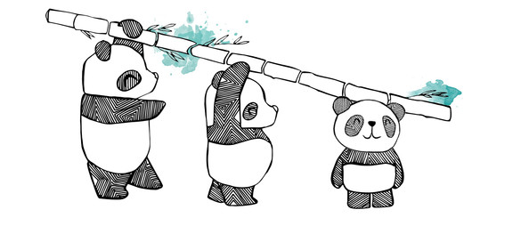 Our first design: Follow the Panda