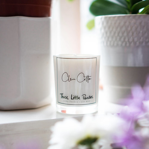 Scented Soy Wax Candle - Mini Jar (9cl)