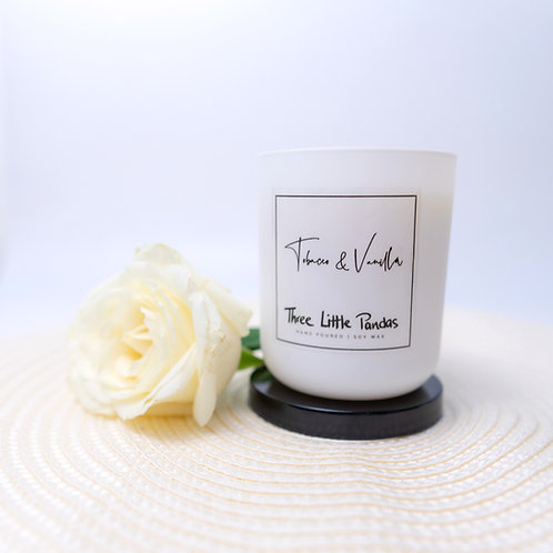 Scented Soy Wax Candle - 20cl Jar with Lid