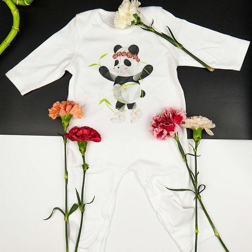 Princess Panda Rompersuit