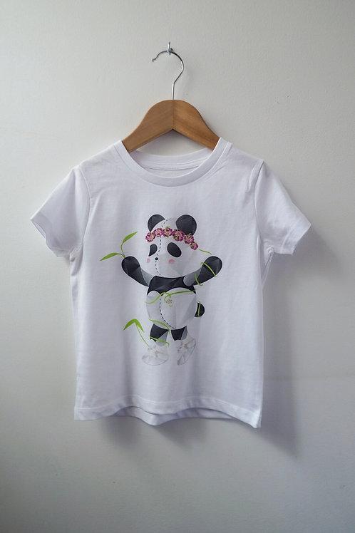 Princess Panda Children & Baby Tee: Large Print