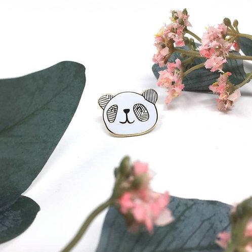 Little Panda Enamel Pin Badge