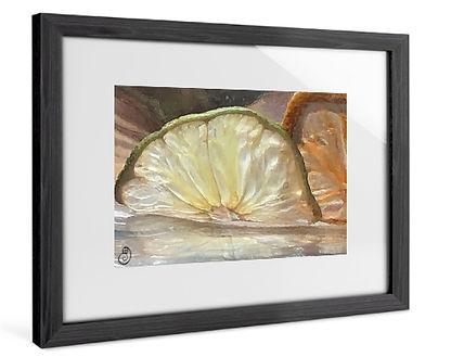 Lime Melt - Classic Frame