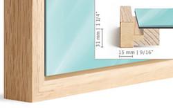 Floater Frame Mount Dimensions