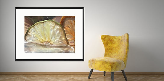 Lime Melt Interior - Classic Frame