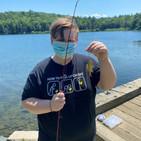 Zander in the 2020 Fishing Derby