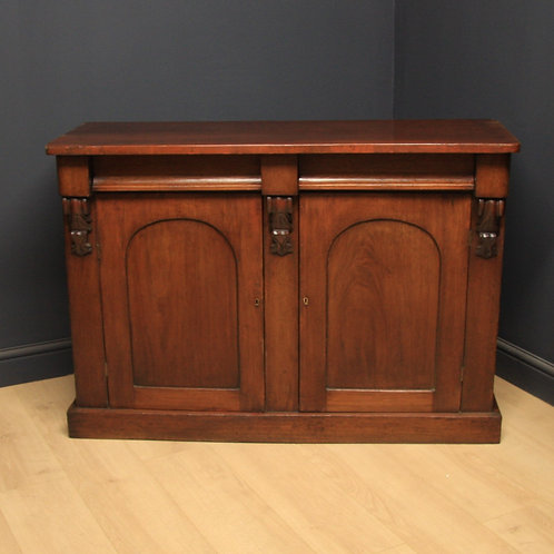 Victorian Mahogany Chiffonier Sideboard