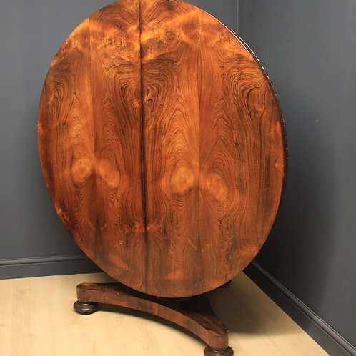 William IV Rosewood Breakfast / Dining Table