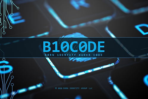 B10C0DE | Born Identity Owner Code  [eBook]