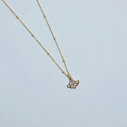 K10 Anchor Diamond Necklace