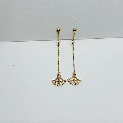 K10 Anchor Earring
