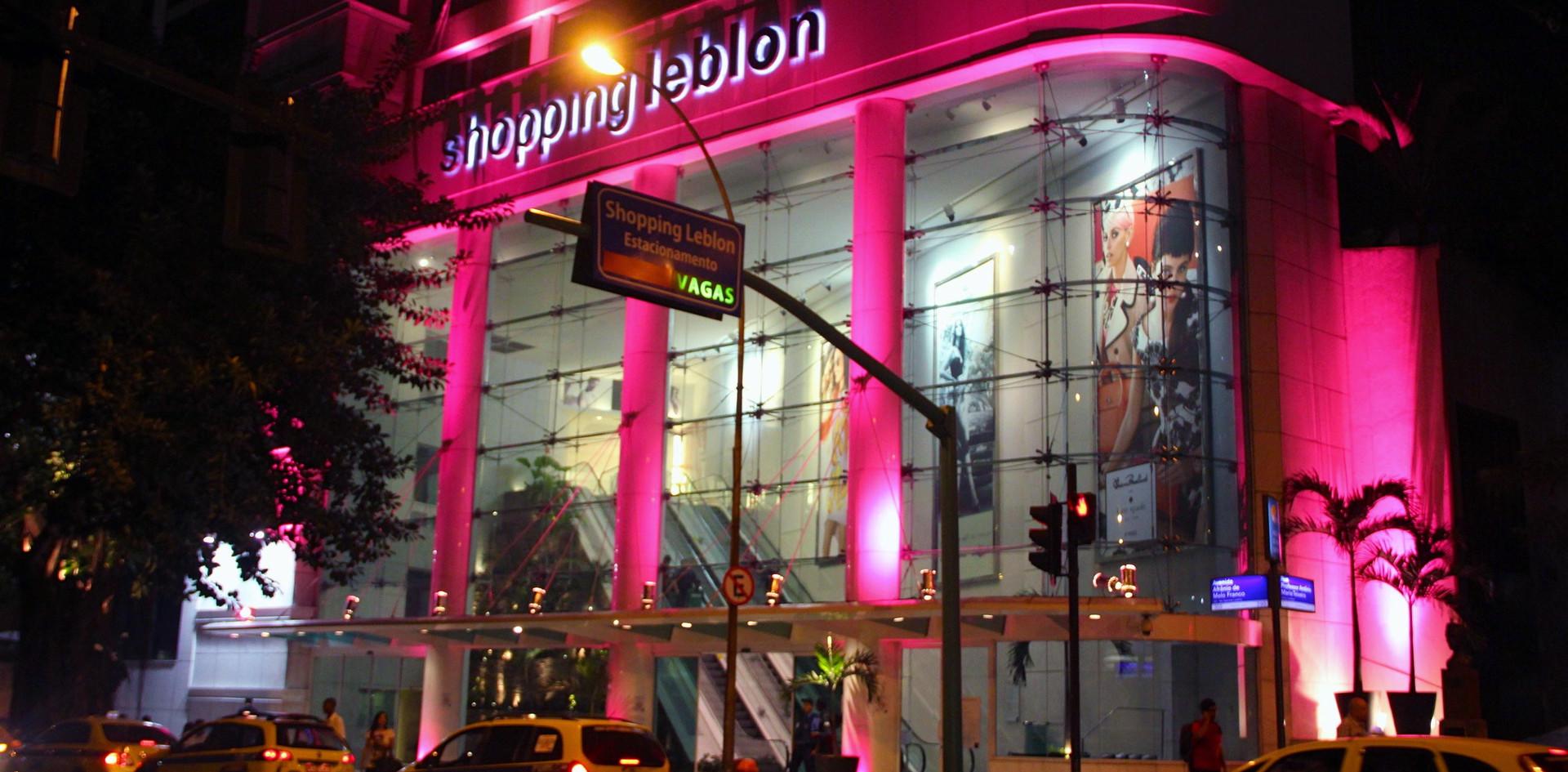 Outubro Rosa - Shopping Leblon