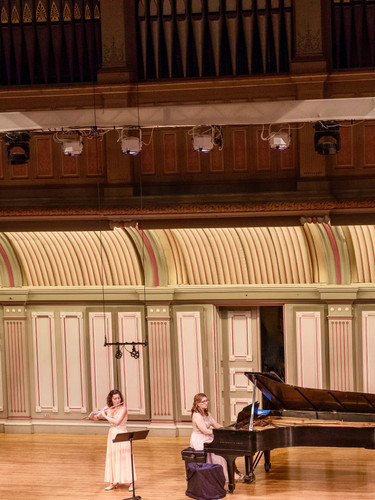Performance at Troy Music Hall