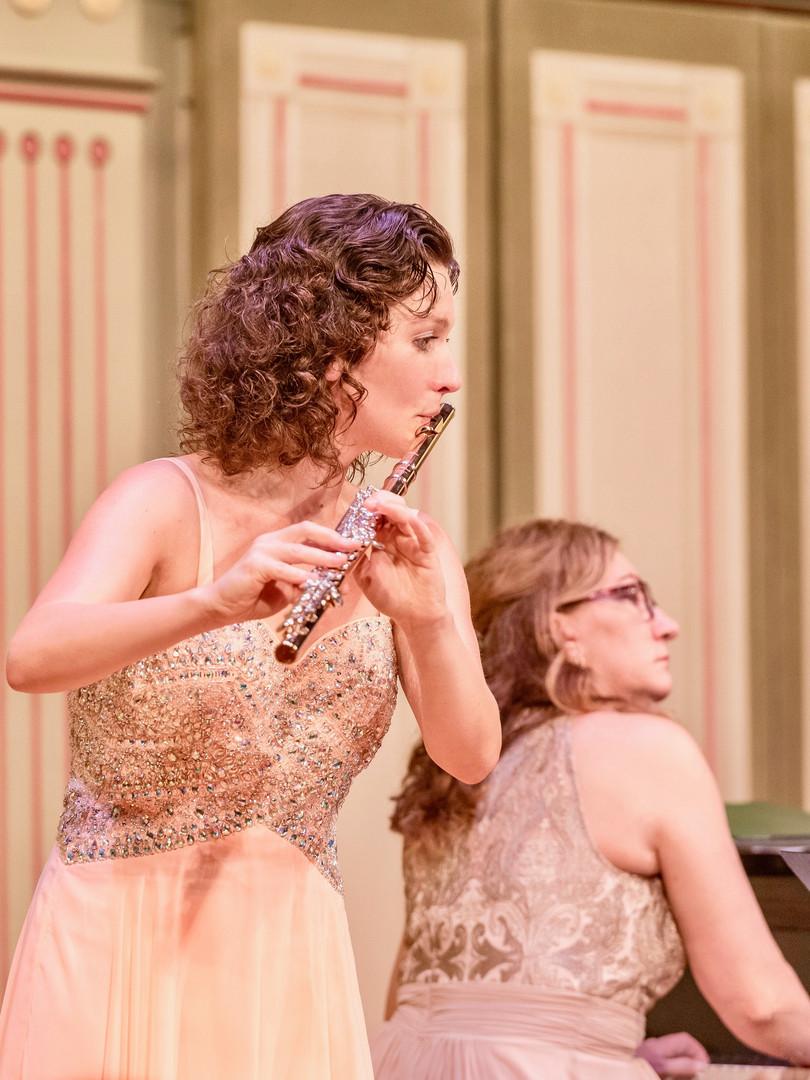 Inna Leoni, Flute. Cheryl Humes, Piano