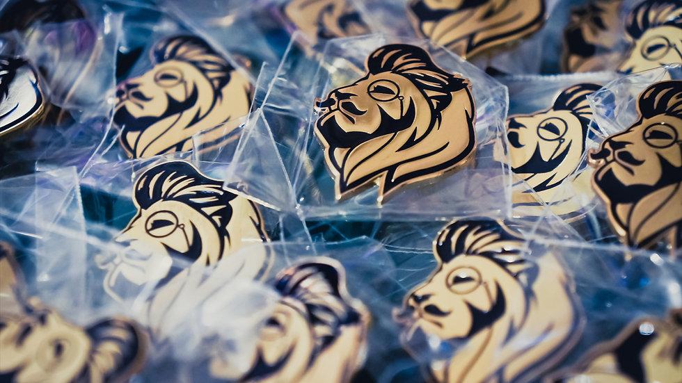 Ziggy Supply Dapper Lion Pin