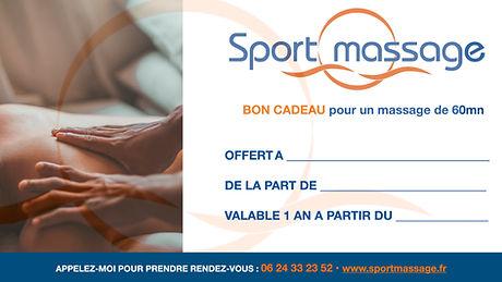 Bon Cadeau Sportmassage Passy Vincent Ro